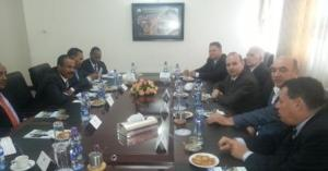 Consultations ECTT President and Minister of Foreign Affairs of Ethiopia