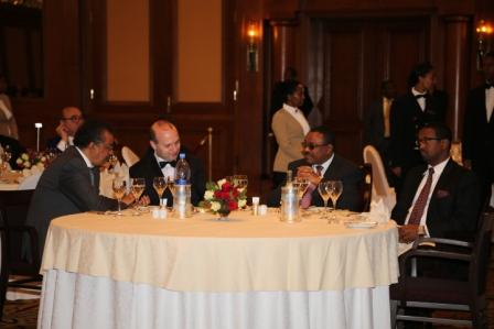Dinner in honor of European Council on Tourism and Trade President