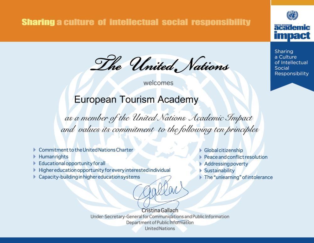 European Tourism Academy