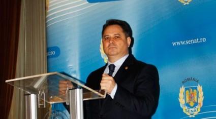 Senator Agrigoroaei la sedinta Parlamentului