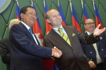 World Tourism Institution President and Prime Minister of Cambodia-Dr. HUN SEN