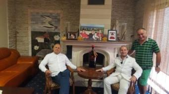 President Anton Caragea, Mark Doda-Balkan CEO and Mihai Puflene-CEO PUFLENE RESORT