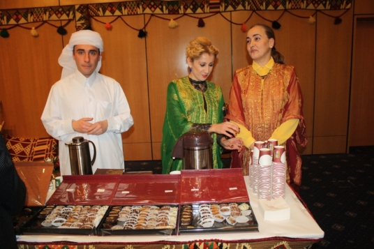 special-treat-for-european-council-on-tourism-and-trade-guests-arabic-coffee-and-sweets