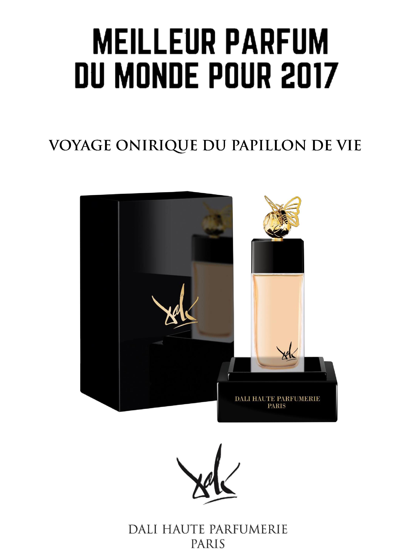 Bien-aimé FRANCE HONORÉ DU PRIX: MEILLEUR PARFUM DU MONDE POUR 2017 POUR  VV36